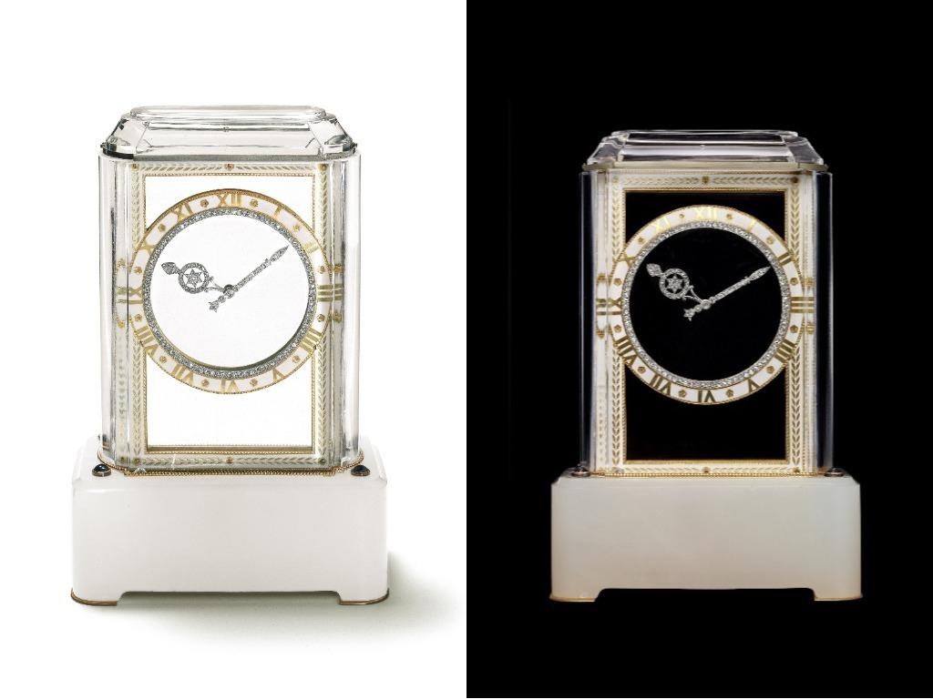 Cartier Model A Mystery clock