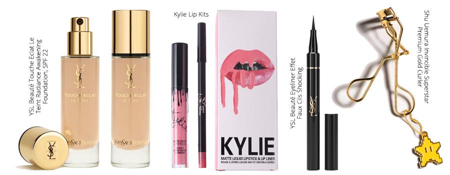 YSL Beauté, Kylie Lip Kits, Shu Uemura