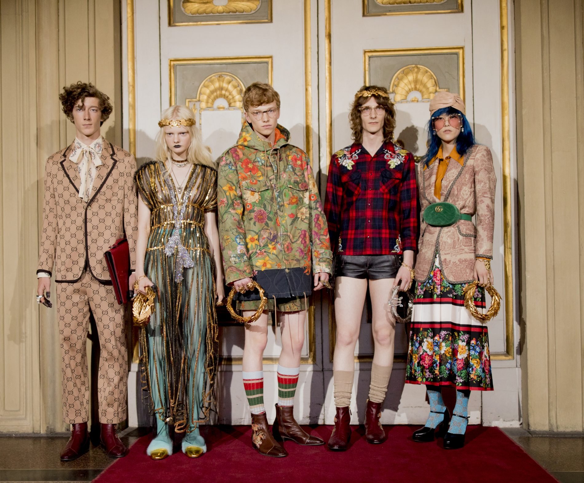 """b9fff648f """"I like popular culture and this is the reason why I like the Renaissance  because it is super pop,"""" said Gucci's creative director Alessandro Michele  of the ..."""