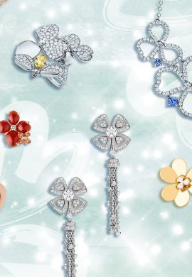 Precious Bouquets: Straddling Classic and Trendy Line with Floral-inspired Jewels