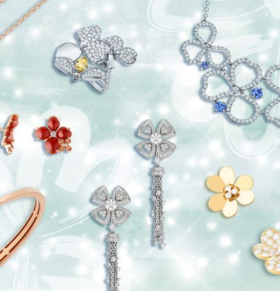 Precious Bouquets: Straddling the Classic and Trendy Line with Floral-inspired Jewels