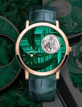 5 Beautiful Green Timepieces
