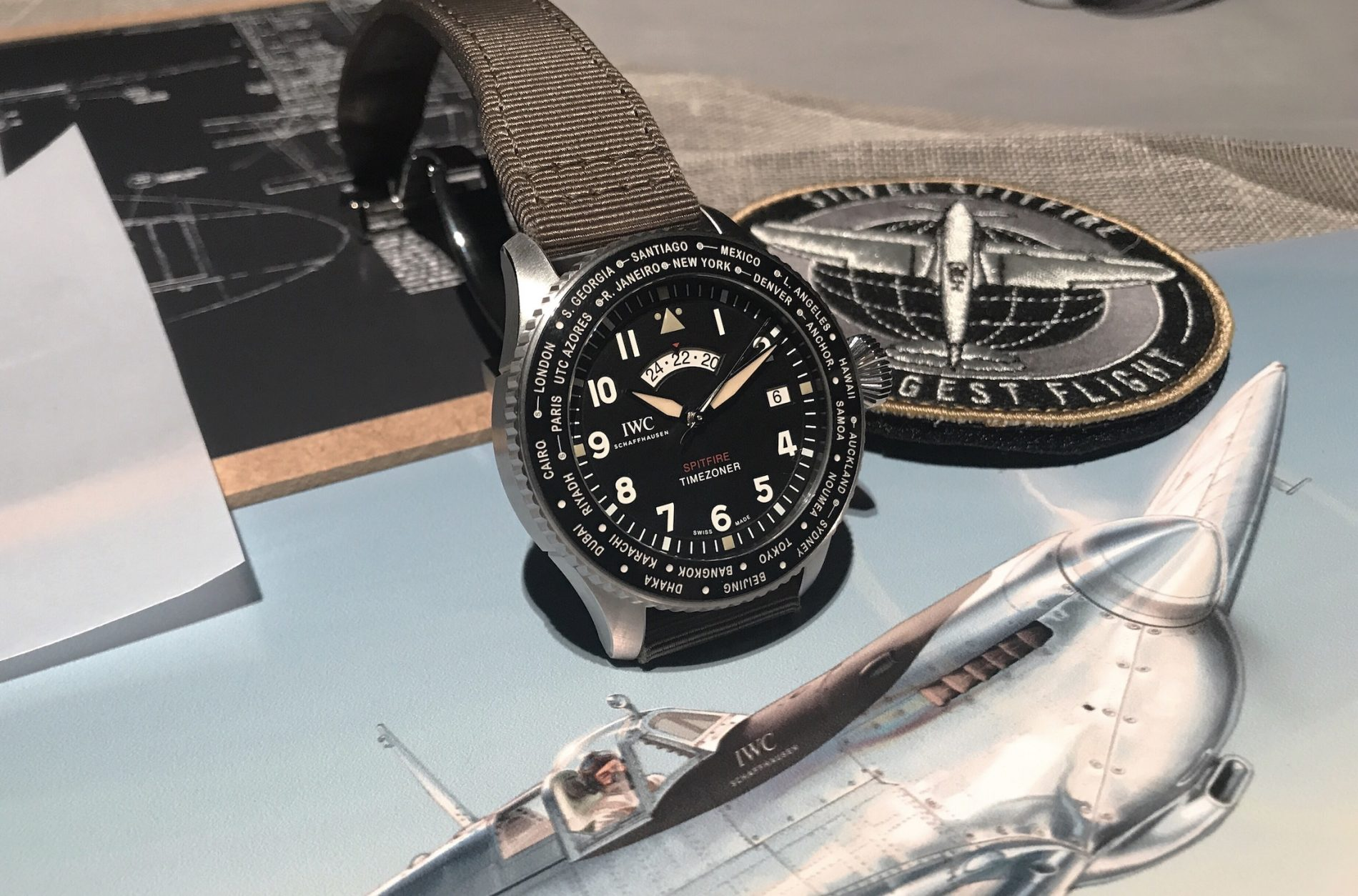 27b4d468af1 IWC  New Pilot s Watches Take Flight at SIHH 2019