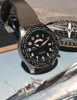 IWC: New Pilot's Watches Take Flight at SIHH 2019