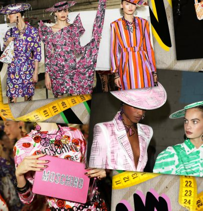 Moschino SS2019: A Sartorial Spectrum that Sparks Joy