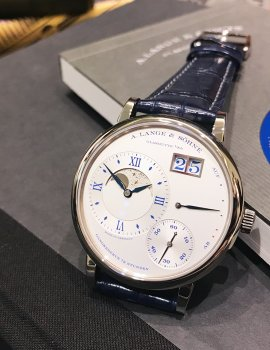 "The Grand Lange 1 Moon Phase ""25th Anniversary"""