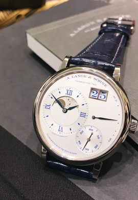 """The Grand Lange 1 Moon Phase """"25th Anniversary"""""""