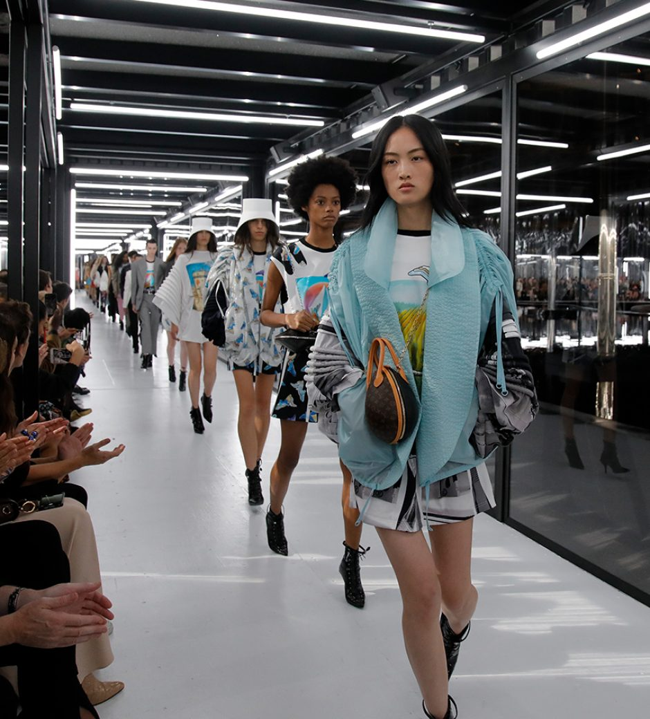 Louis Vuitton SS19: The Shape of the Future