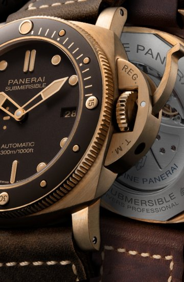Panerai: Bring Fourth the Submersible Bronzo
