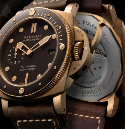 Panerai: Bring Fourth the Submersible Bronzo