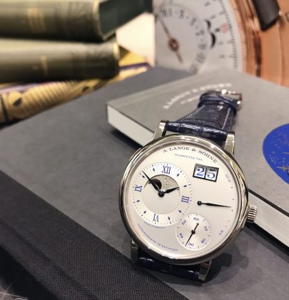 "A. Lange & Söhne: The Grand Lange 1 Moon Phase ""25th Anniversary"""