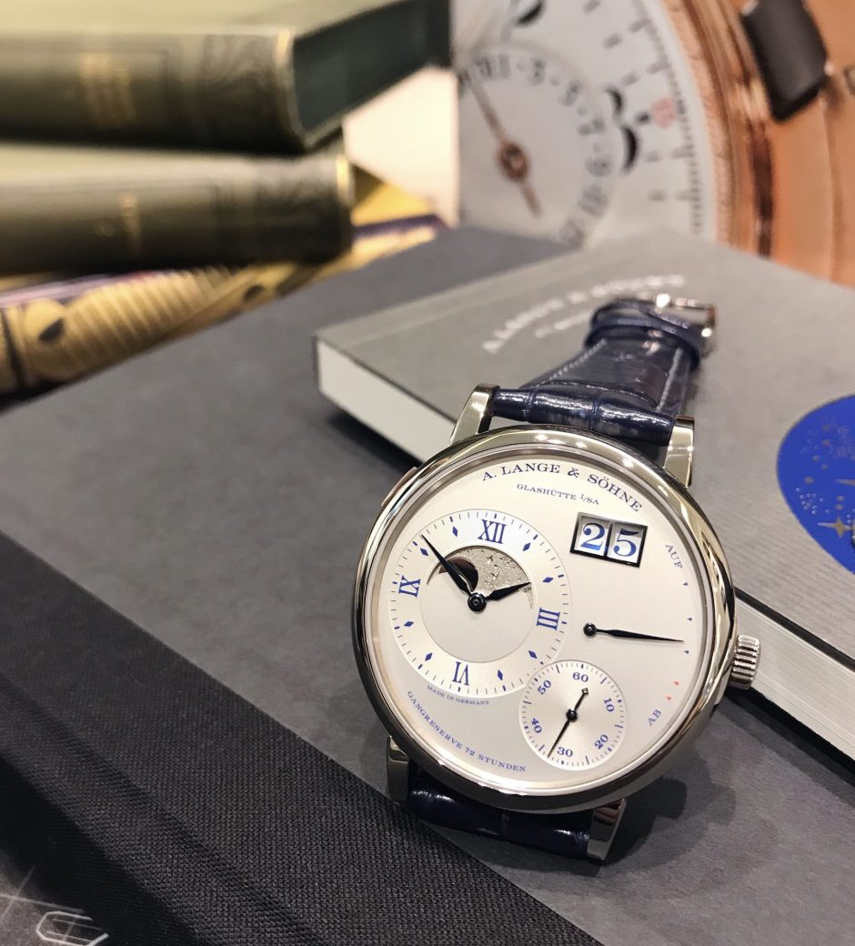 """A. Lange & Söhne: The Grand Lange 1 Moon Phase """"25th Anniversary"""""""
