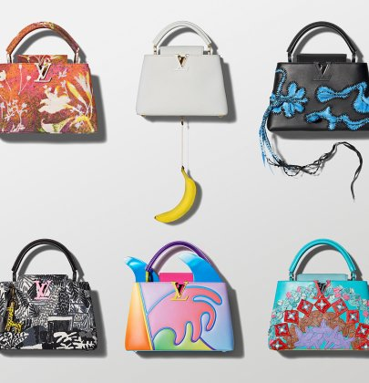 Louis Vuitton: The ArtyCapucines Collection