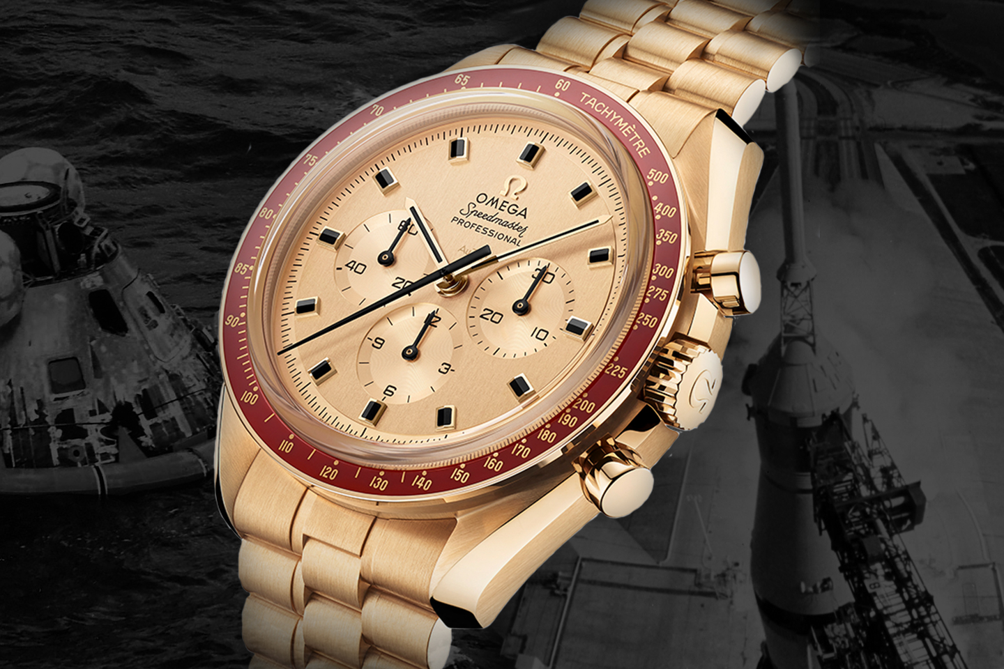 c369b03c690 50 years ago, when Man first stepped on to the moon, they were wearing the  Omega Speedmaster.