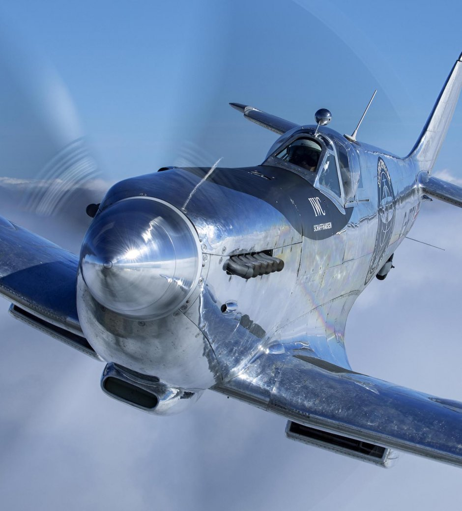 IWC: Silver Spitfire Restoration Complete for The Longest Flight Expedition