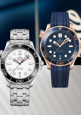 Omega: The Seamaster Diver 300M in 2019