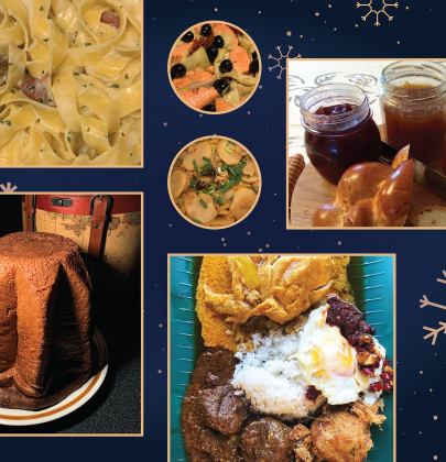 Foodies' Fondest Holiday Feasts