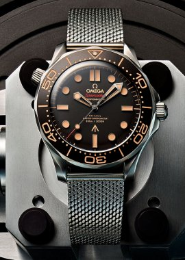 Omega: No Time to Die gets a To-Die-For Seamaster 300M