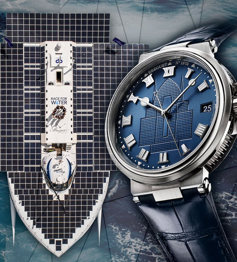 Breguet: Making Waves Against Plastic Pollution