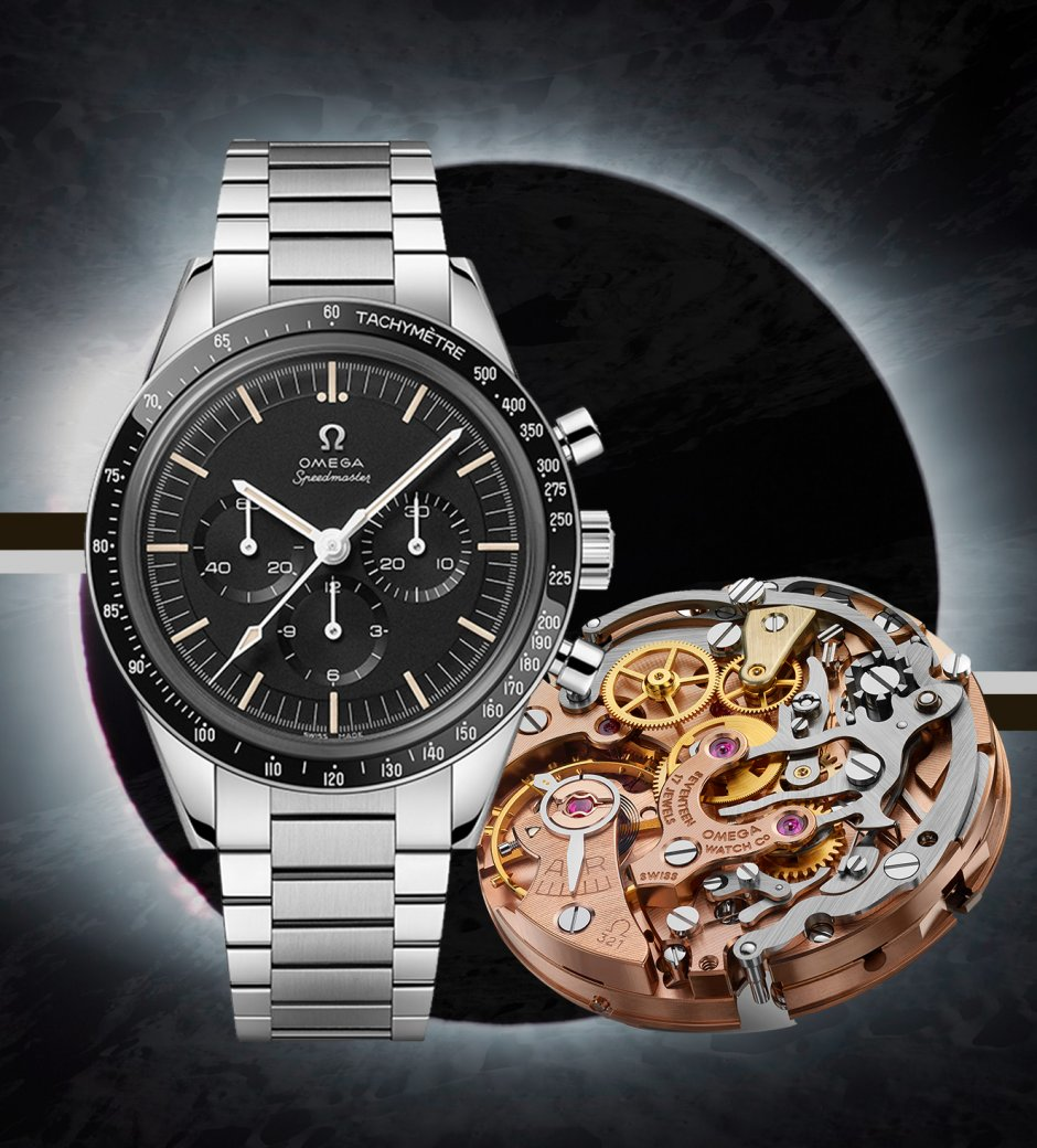 3,2,1. The latest Omega Speedmaster with a Return of a Classic Calibre