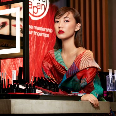 Audacious Red Lips for a Fiery New Year: Julie Tan