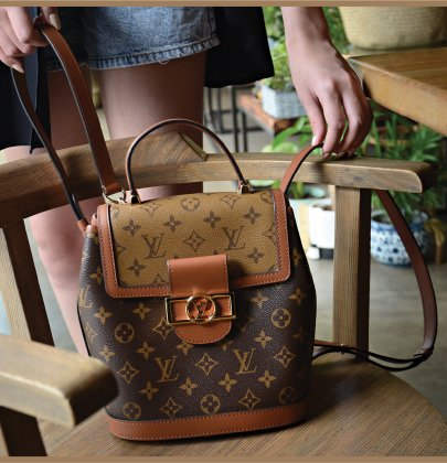 Bag Talk: Louis Vuitton Dauphine Backpack