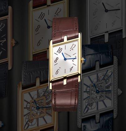 Smooth Slant: Cartier Privé Tank Asymétrique