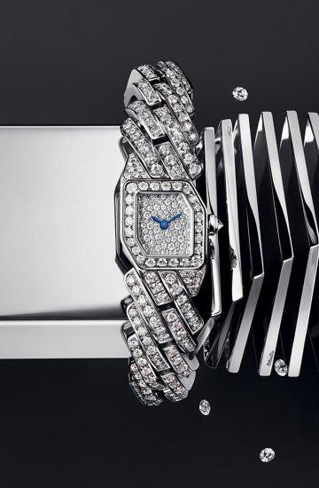 Maillon de Cartier: Gems in motion