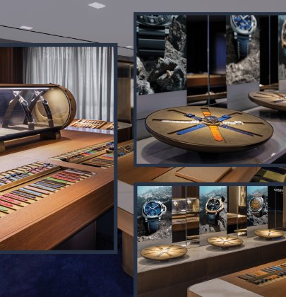 Panerai: First Worldwide Watch Accessories Room in Hong Kong