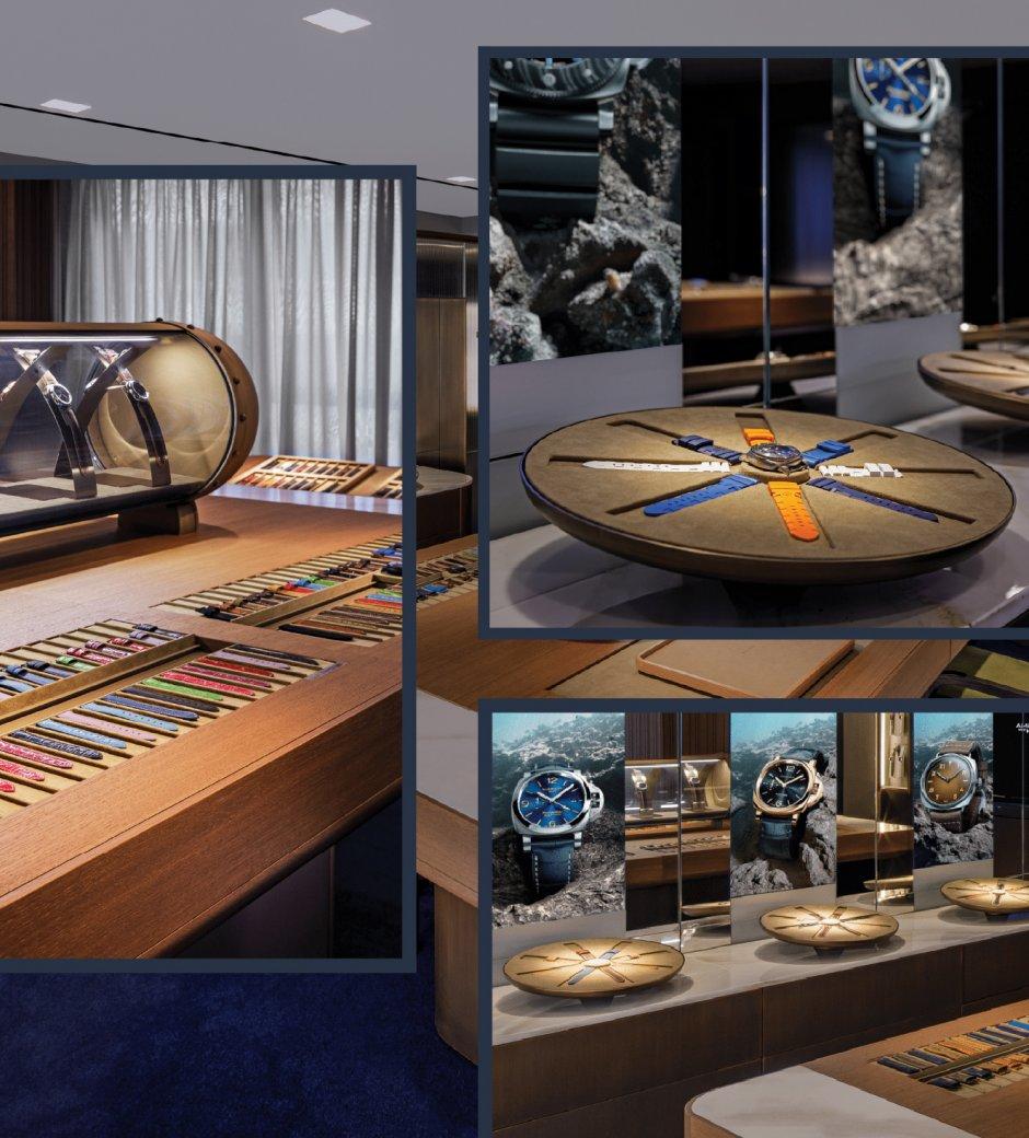 Panerai: First Worldwide Watch Accessories Room in Hong Kong