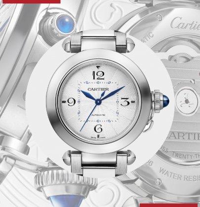 Pasha de Cartier: An Icon, Renewed