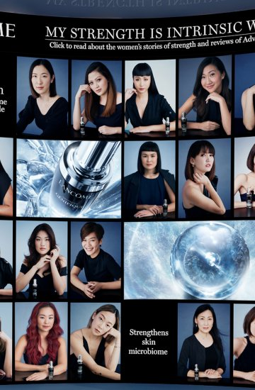 Lancome: Strong Beauty