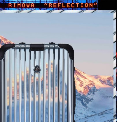 Moncler x Rimowa: Invitation to Reflect
