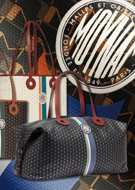 Moynat OH! Tote Ribbon Duo & 48H Weekender Bag: No Featherweight