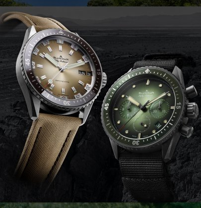 Blancpain Bathyscaphe: From the Desert to the Deep