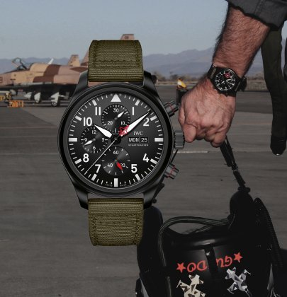 "IWC Pilot's Watch Top Gun Edition ""SFTI"": The Ultimate Wingman"