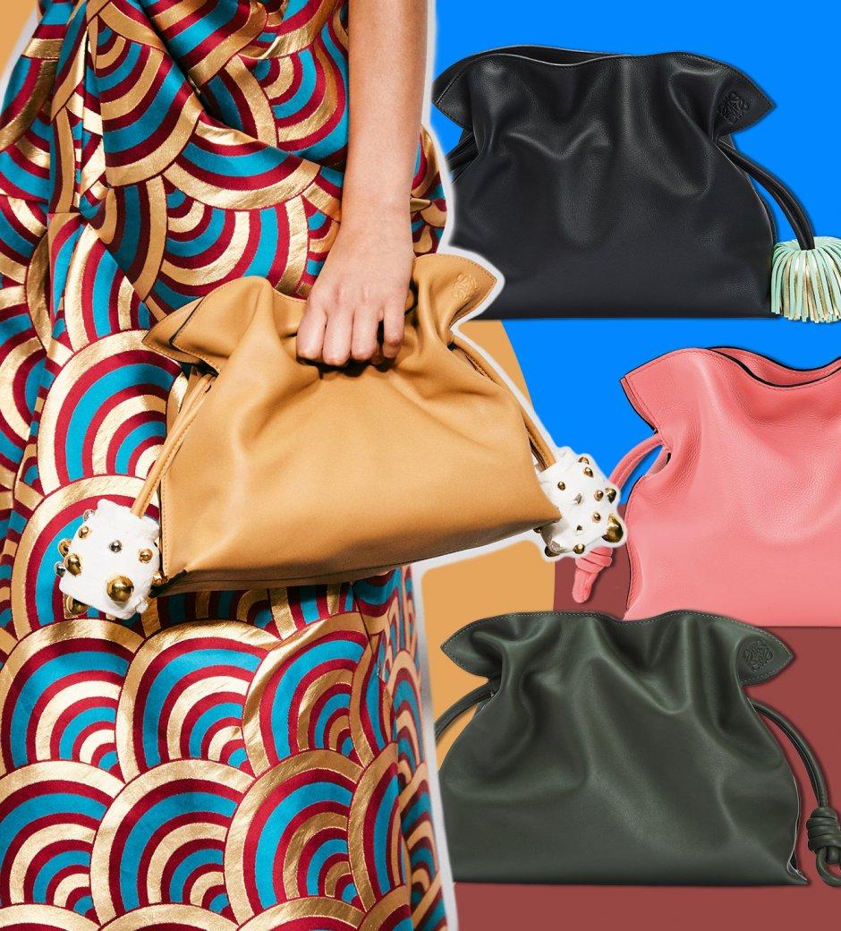 Loewe: The Flamenco Clutch Bag