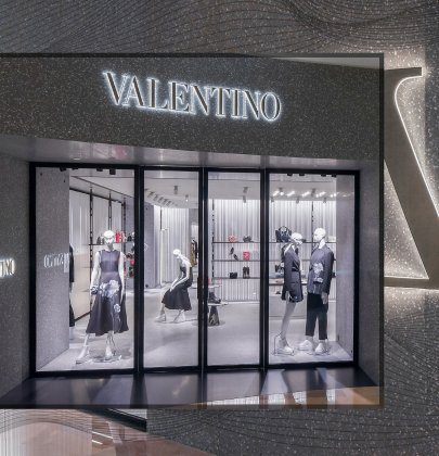 Valentino Opens New Flagship Boutique in Singapore