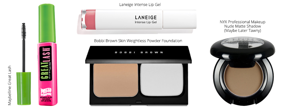 Laneige, Maybelline, Bobbi Brown, NYX Professional Makeup