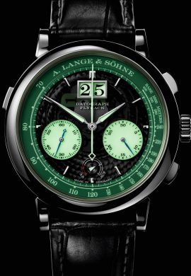A. Lange & Söhne: Come to the dark side