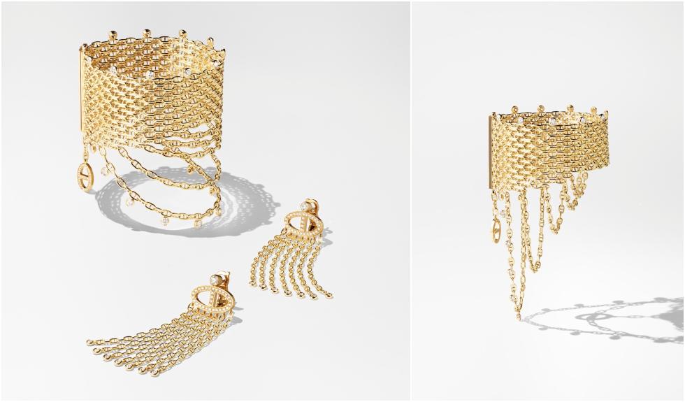 Bracelet et BO Voltige and Bracelet Voltige