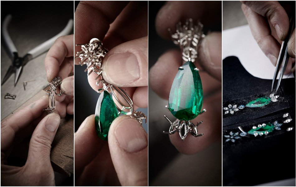 Chopard - Crafting the Green Carpet Earring