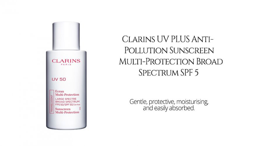Clarins UV PLUS Anti-Pollution Sunscreen