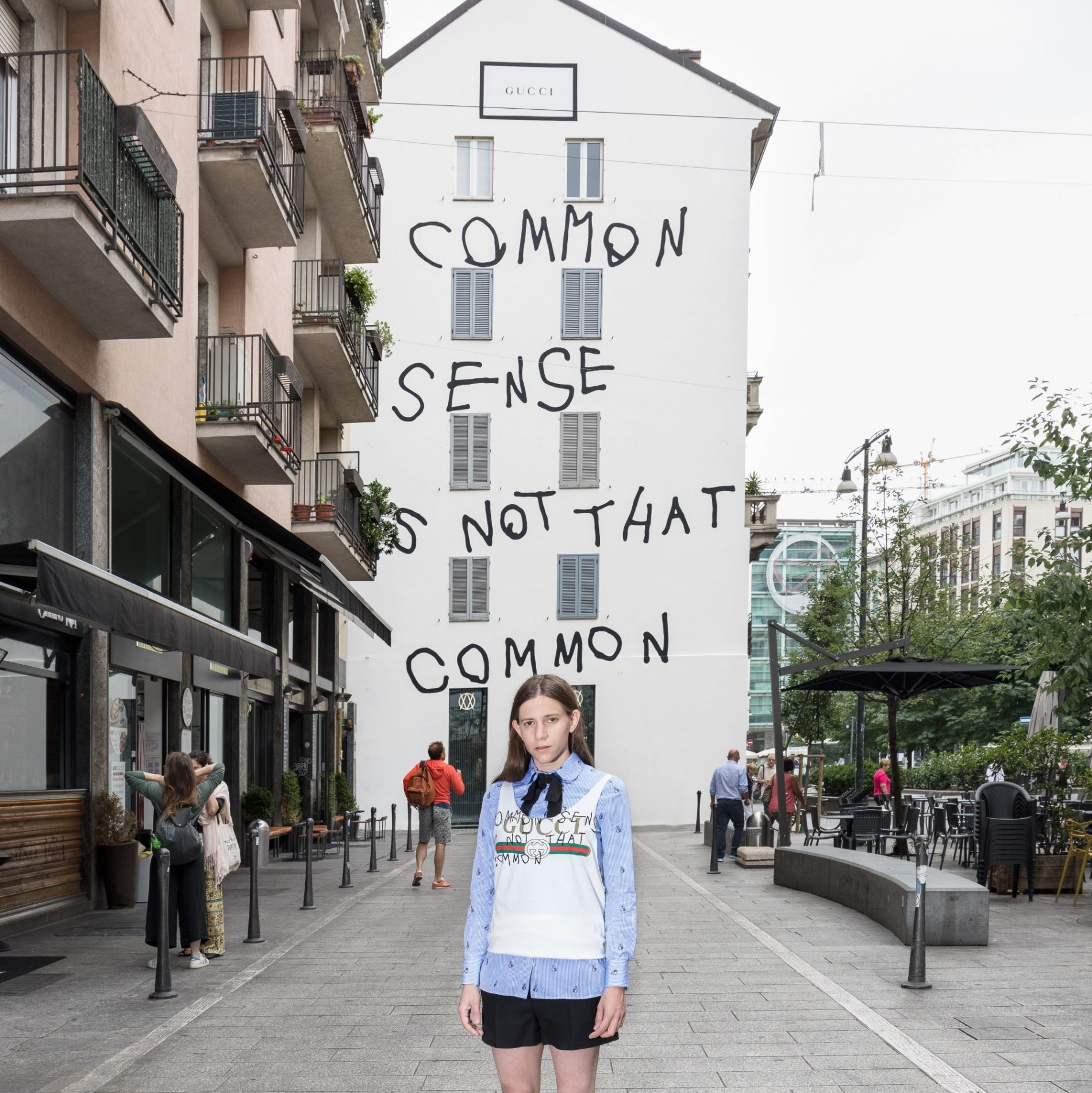 """6de44d7c3 This is a marriage of Capitán's witty and ironic take on the world with  Alessandro Michele's aesthetic of contemporary, eclectic romanticism. """"Common  sense ..."""