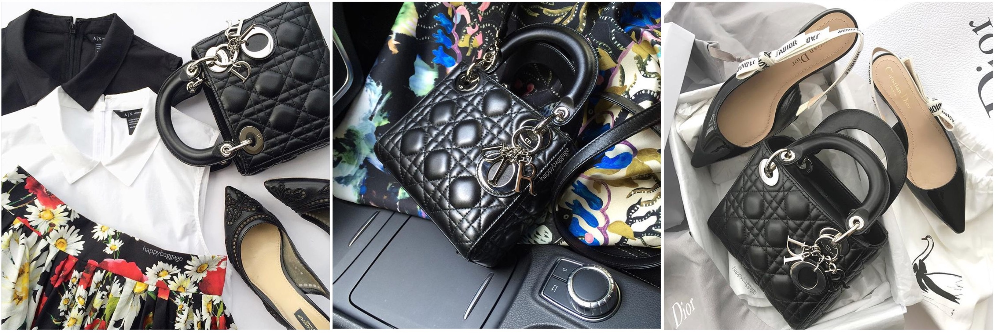 d2b6cc4f8b0 The Day to Evening bag: Lady Dior Mini, in lambskin. This little one has  enough capacity for my day essentials, while offering formality if I need  to attend ...