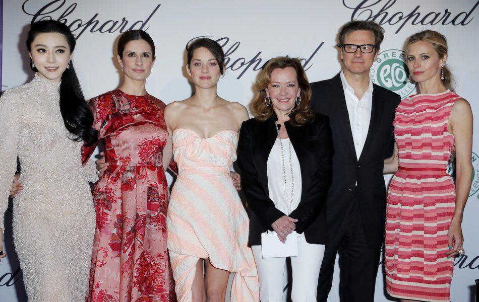 Fan Bing Bing, Livia Firth,Marion Cotillard, Caroline Scheufele, Colin Firth, Laura Bailey, the Journey (2013)