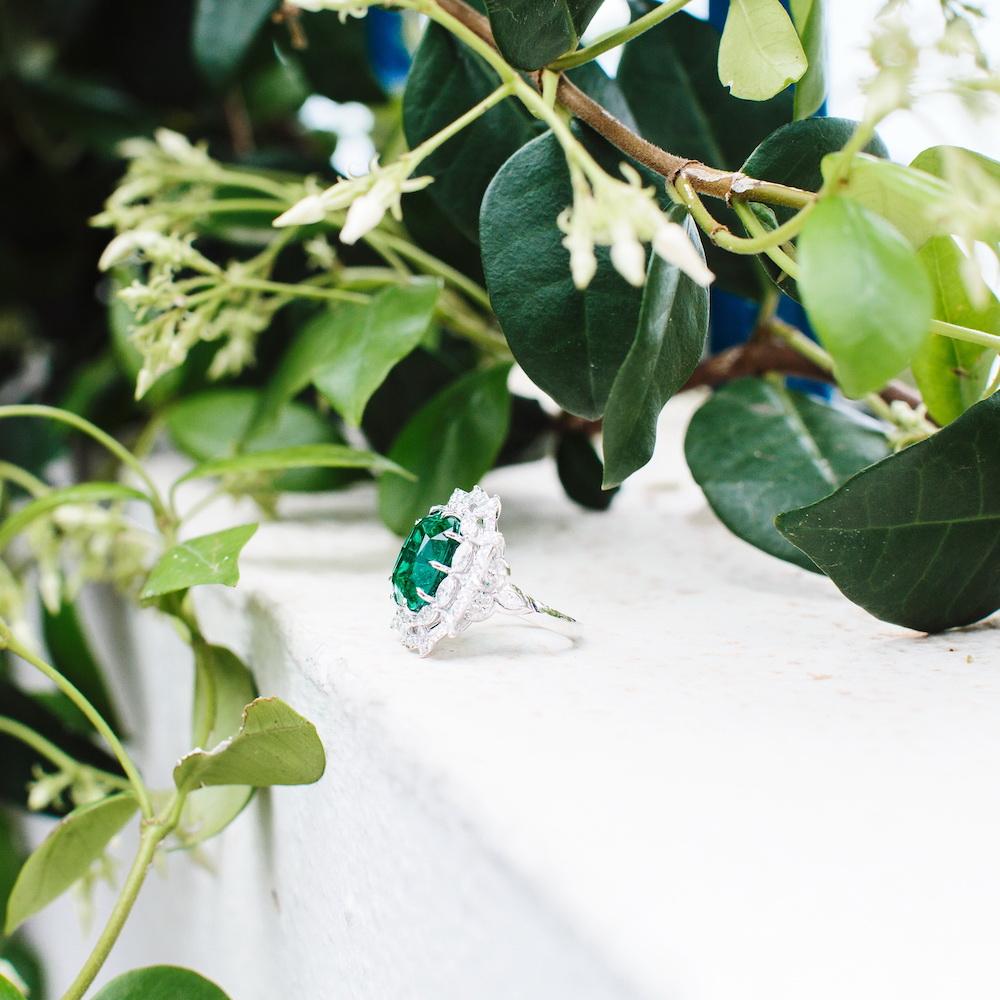 Chopard Green Carpet Ring