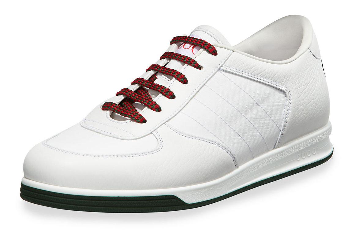 Gucci 1984 leather anniversary sneaker