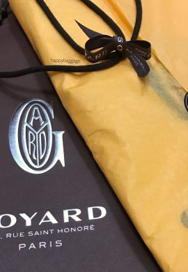 Goyard Saint Louis: To Tote or not to Tote