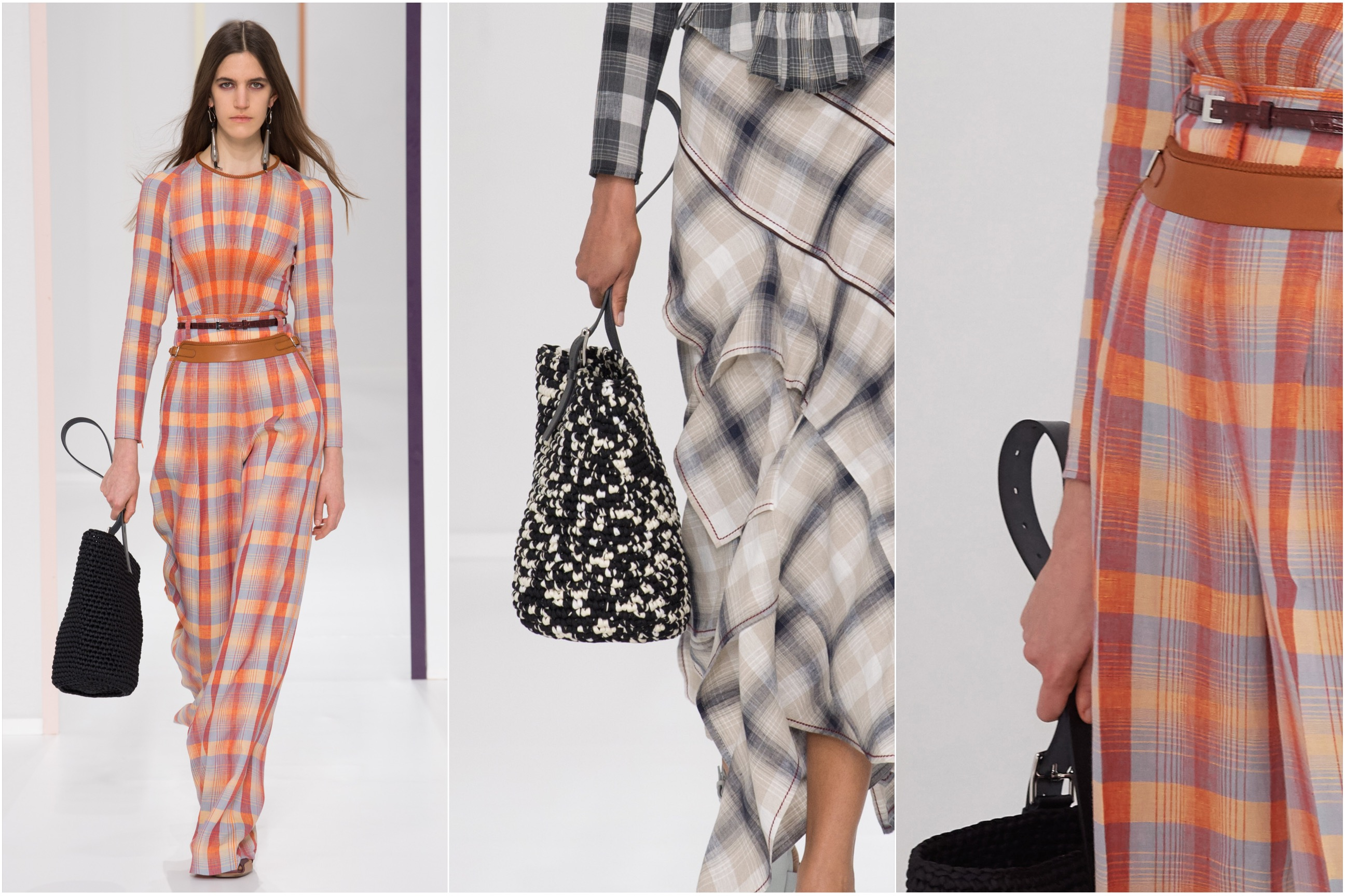 0bbce5fef2 Reproportioned  We had a sneak peek at the Hermès 2002 bag in the Resort  collection. On the Spring runway